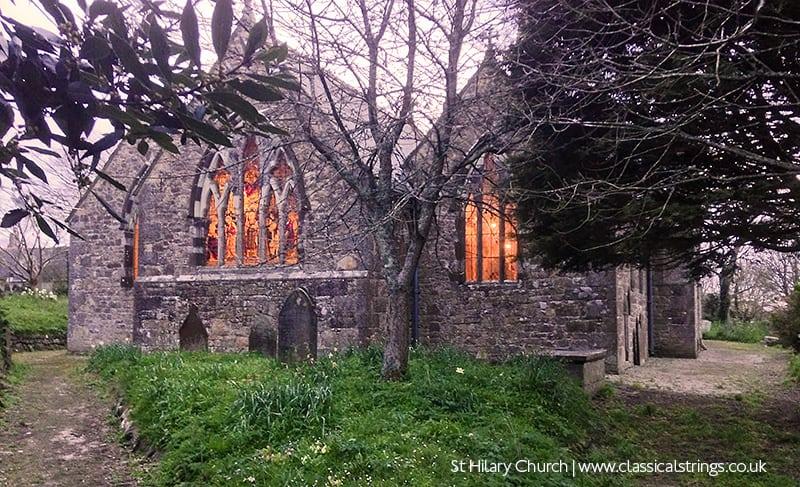 St Hilary Church Cornwall