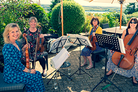 String Quartet for Weddings in Cornwall and Devon