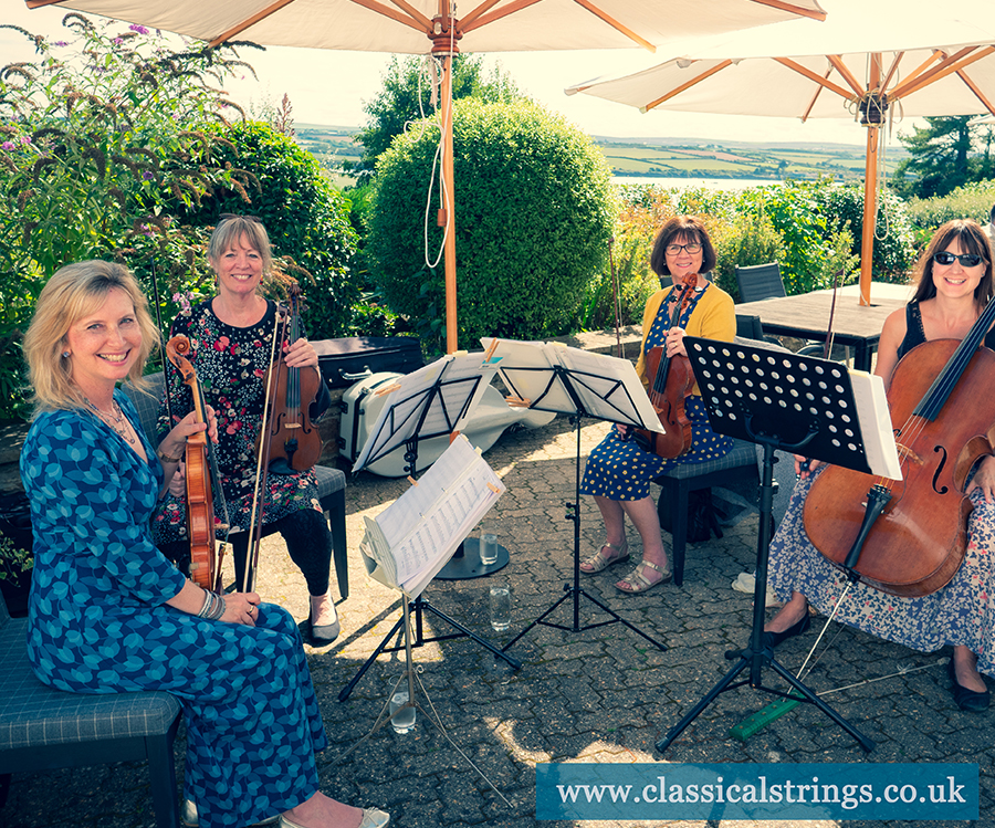 String Quartet Weddings in Cornwall and Devon